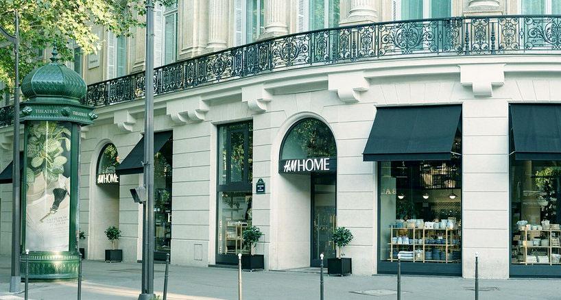 Trouver un magasin H&M home