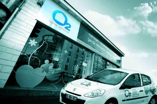 O2 home services, services d'aide à la personne