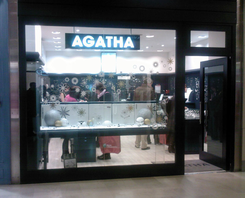 trouver un magasin Agatha