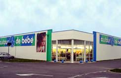 trouver un magasin Autour de Bébé