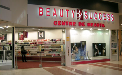 trouver une parfumerie Beauty Success