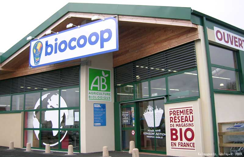 Les magasins éthiques et soucieux de l'environnement : les Biocoops