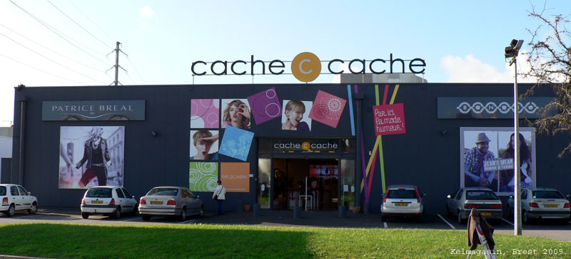 Le magasin Cache-Cache de Brest