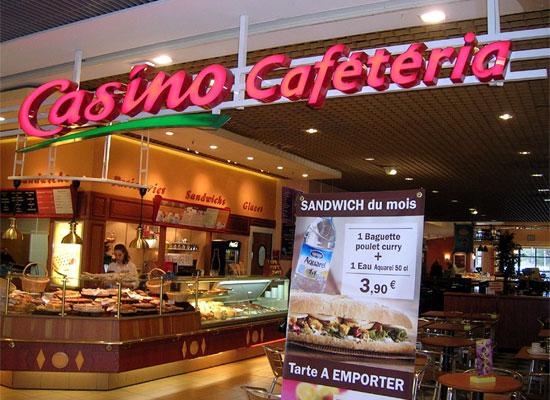La cafétéria Casino