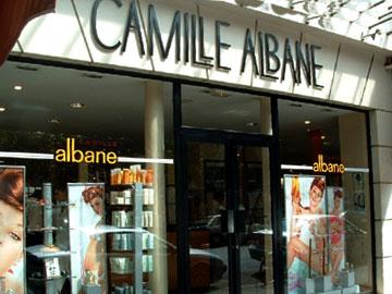 trouver un salon de coiffure Camille Albane