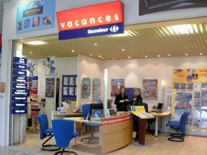 trouver une agence Carrefour vacances