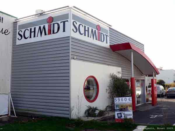 Trouver un magasin Cuisine Schmidt