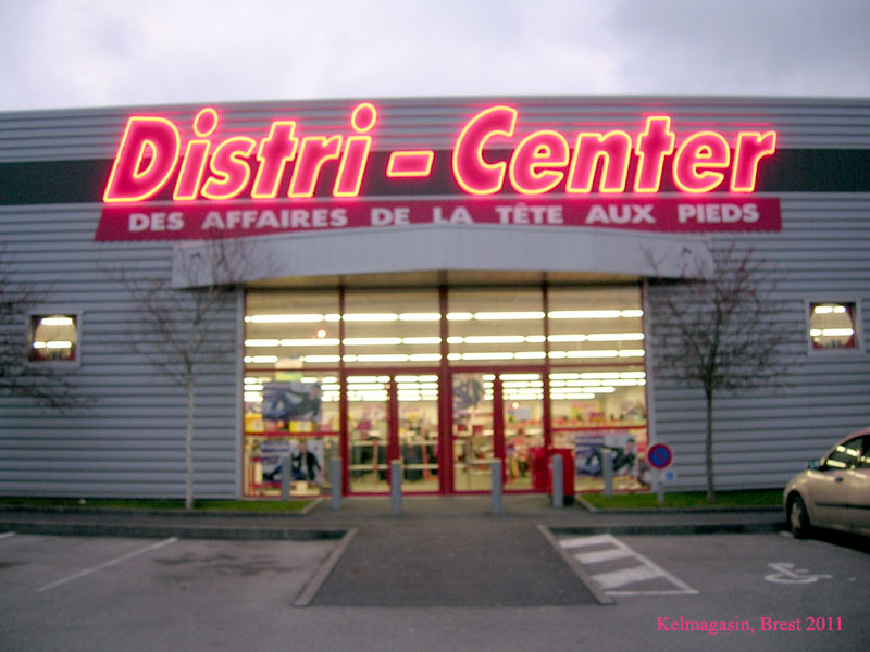 trouver un magasin Distri-Center