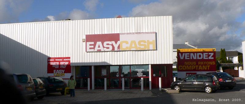 Les magasins et promos Easy Cash