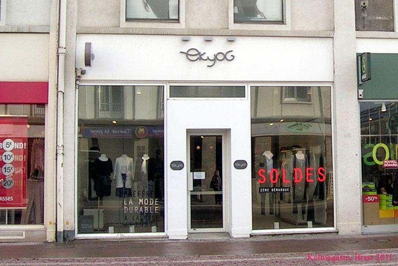 Les magasins et les promos Ekyog