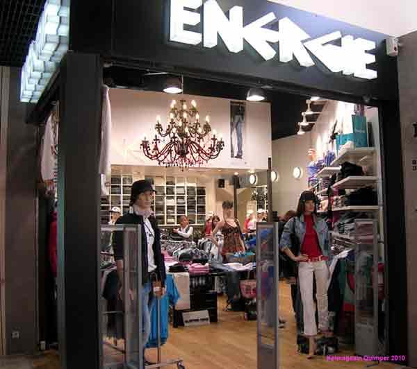 Les magasins Energie