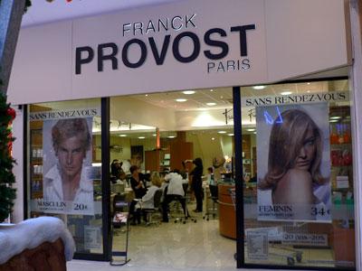 trouver un salon de coiffure Franck Provost
