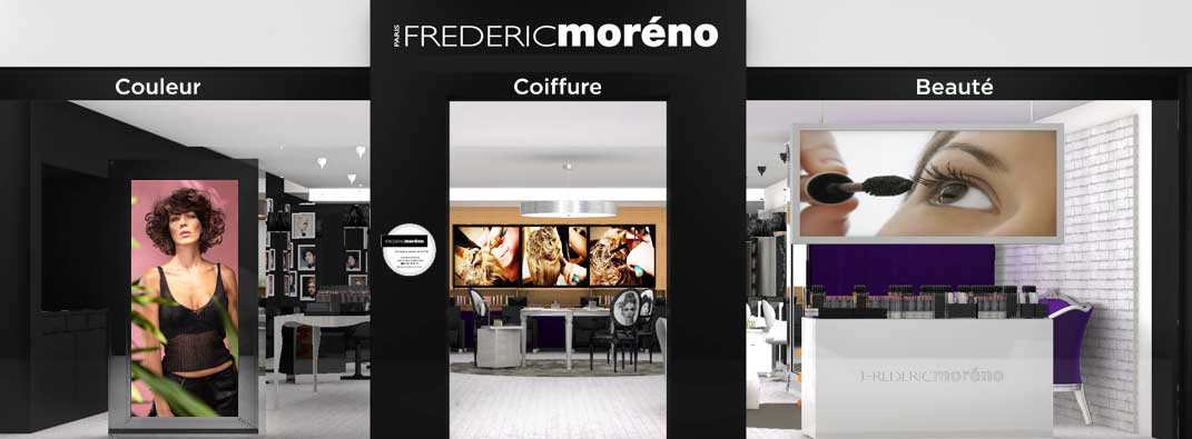 Trouver un salon de coiffure Frédéric Moréno