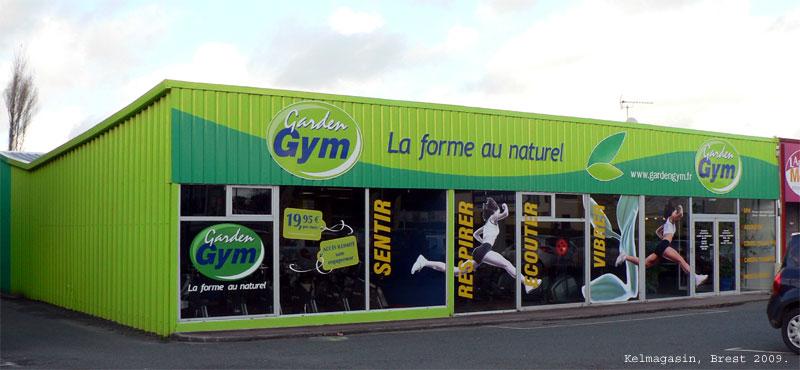 Trouver un centre Garden Gym