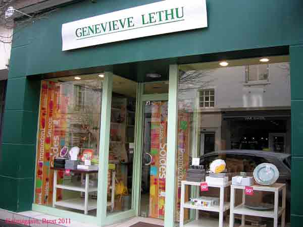 trouver un magasin Geneviève Lethu