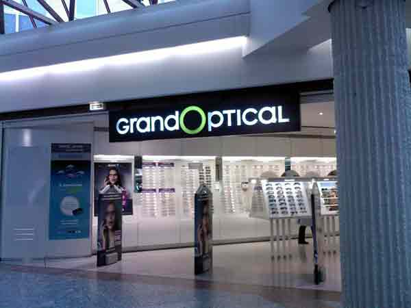 Les magasins Grand Optical de Brest
