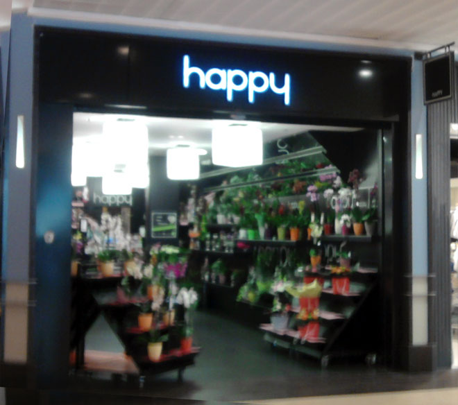les magasins de fleurs happy en france. Black Bedroom Furniture Sets. Home Design Ideas