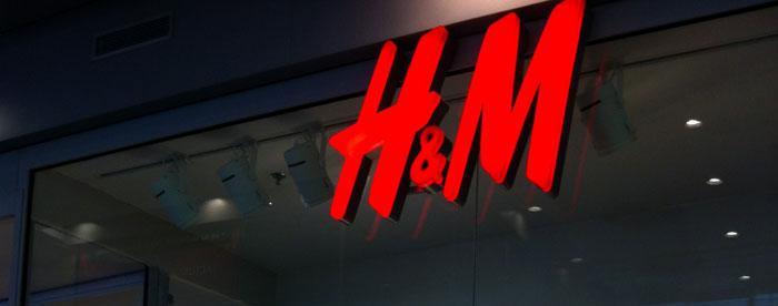 le magasin H & M