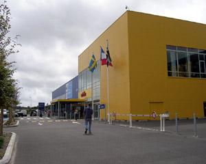 Les magasins ikea de Brest guipavas