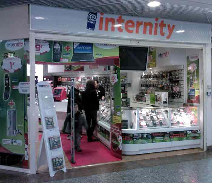 Les magasins et promos Internity