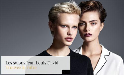 Trouver un salon de coiffure Jean Louis David
