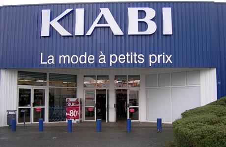 trouver un magasin Kiabi