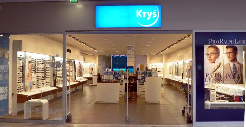 Le magasin Krys de Brest