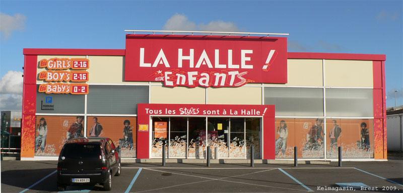 trouver un magasin La Halle aux Vêtements