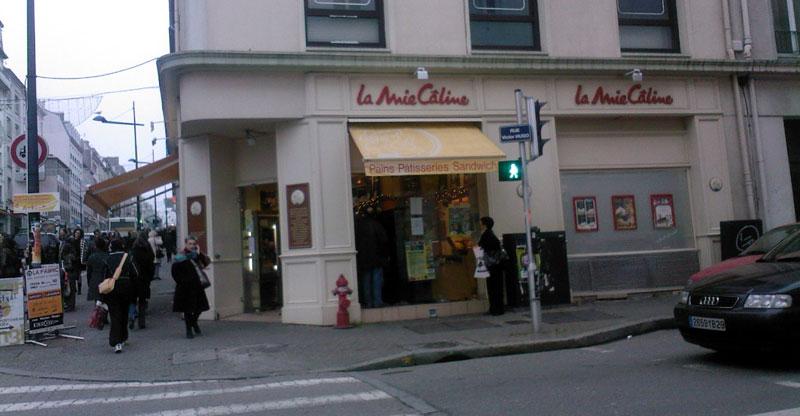 Trouver un restaurant la Mie Câline