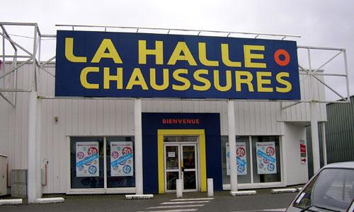 trouver un magasin la Halle aux Chaussures