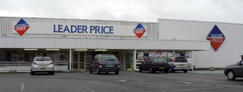 le magasin Leader Price