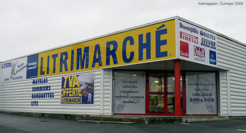 Le magasin Litrimarch� de Quimper