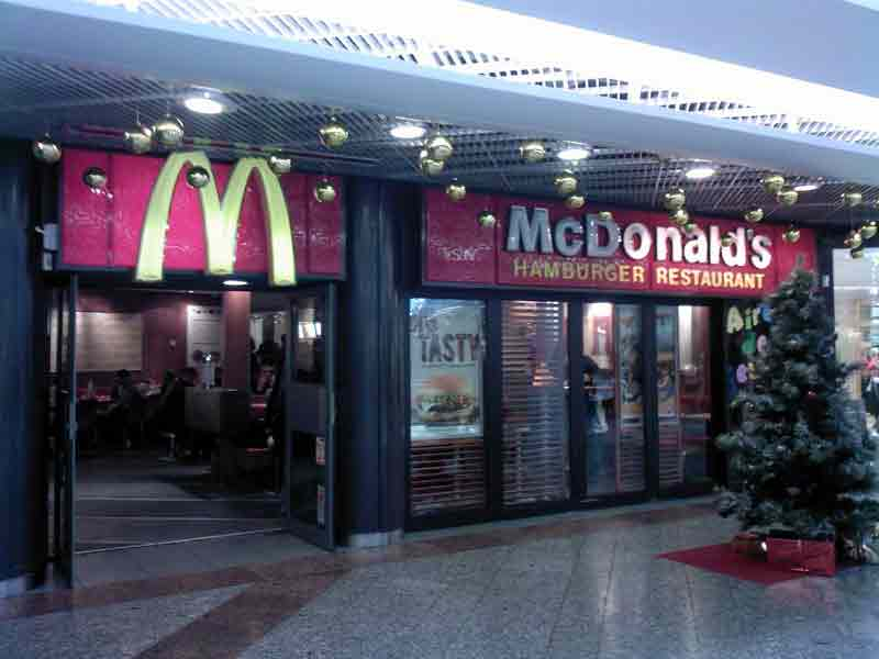les restaurants Mac Donald's