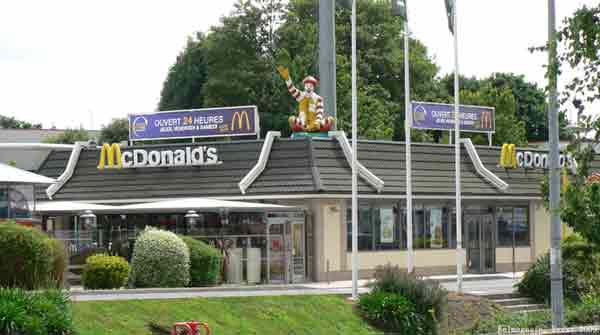 Trouver un restaurant Mc Donald's