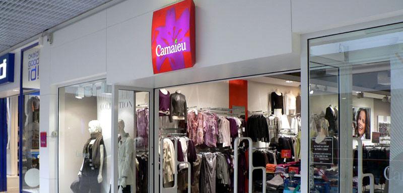 le magasin Camaieu de Brest Iroise