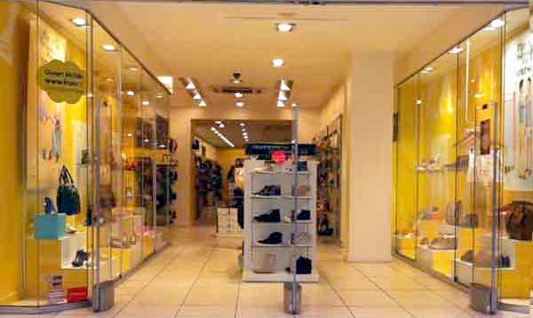 Les magasins de chaussures