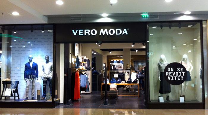 Les magasins Vero Moda