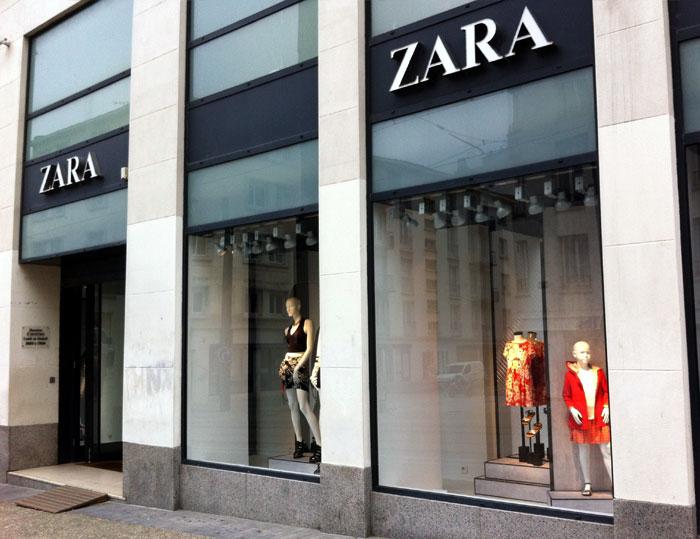 Trouver un magasin Zara