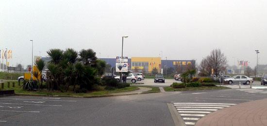 Les magasins du centre commercial Guipavas