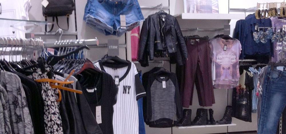 Les magasins de mode et pr�t-�-porter en France