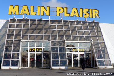 Le magasin Malin-Plaisir de Brest