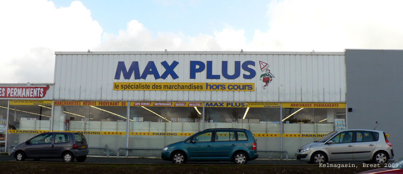 Magasin Max Plus à Brest