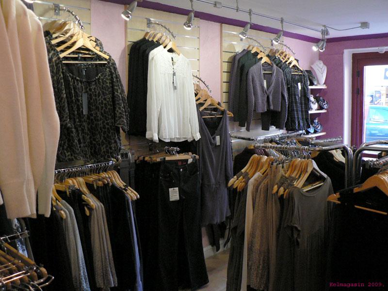 Les magasins de vêtements