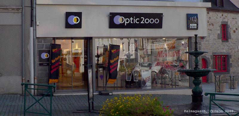 Les magasins et promos Optic 2000