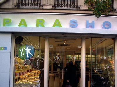 trouver un magasin Parashop