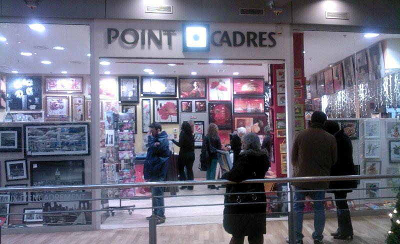 trouver un magasin Point Cadre