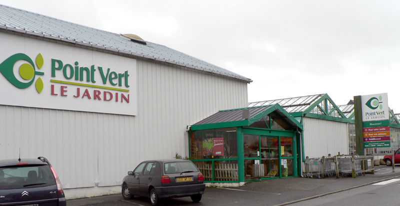 Le magasin Point Vert