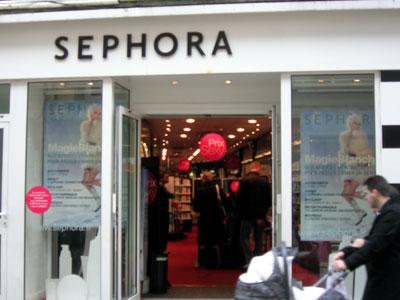 Trouver un magasin Sephora
