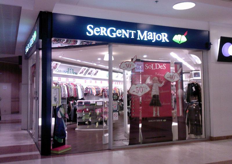 trouver un magasin Sergent Major