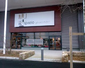 Le magasin Spazio, Gérard Therin, de Brest guipavas